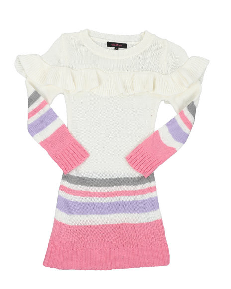Delia's Girl - 7GG Sweater Dress (4-6X)