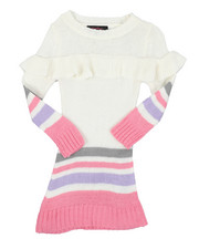 Sizes 2T-4T - Toddler - 7GG Sweater Dress (2T-4T)-2429513