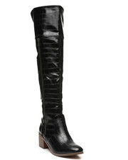 Fashion Lab - Over The Knee Zip-Up Boots-2429687
