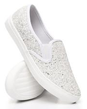 Footwear - Slip-On Glitter Sneakers-2429908