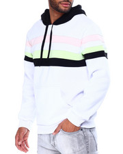 Buyers Picks - Fleece Color Blocked Pullover Hoodie-2430186