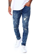 Men - Articulated Knee DistressedJean-2430077