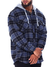 Big & Tall Faves - Hooded Flannels (B&T)-2430691