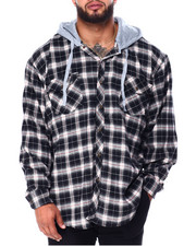Big & Tall - Hooded Flannels (B&T)-2430702
