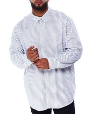 Chaps - Stretch Easy Care H-EC Stretch-L/S Sleeve-Sport Shirt (B&T)-2430705