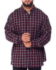 Big & Tall Faves - Easy Care-Fashion-L/S-Sport Shirt (B&T)-2430762