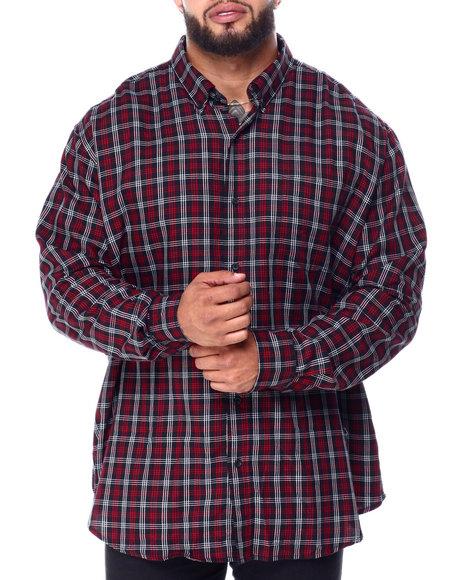 Chaps - Easy Care-Fashion-L/S-Sport Shirt (B&T)