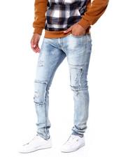 Men - Lazer Cut Repair Skinny Jean-2430384