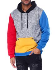 Hoodies - Colorblock Pullover Hoodie-2430245