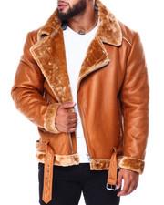 Heavy Coats - Bomber Shearling Jacket (B&T)-2426920