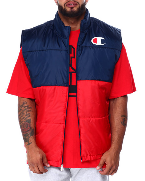Champion - Puffer Vest Zip Front (B&T)