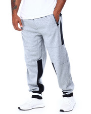Phat Farm - Side Poly Trimmed Fleece Jogger Pants (B&T)-2429976