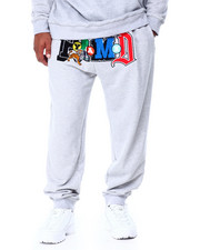 Joggers - Collage Type Jogger (B&T)-2430026