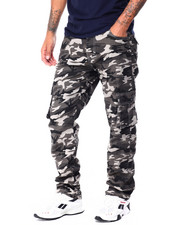 Pants - Camo Twill Stretch Cargo Pants-2430477