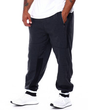 Phat Farm - Side Poly Trimmed Fleece Jogger Pants (B&T)-2430004