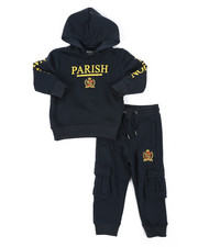 Parish - Fleece Pop Over Hoodie Set (2T-4T)-2429074