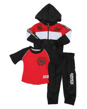 Infant & Newborn - 3pc Jogger Set (Infant)-2429572