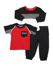 Infant & Newborn - 3 Pc Knit Set (0-24Mo)-2429581