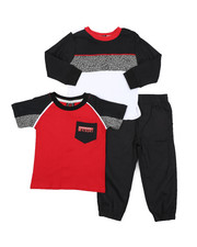 Boys - 3 Pc Knit Set (2T-4T)-2429588