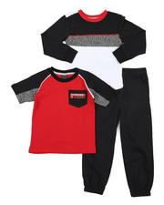 Sets - 3 Pc Knit Set (4-7)-2429592