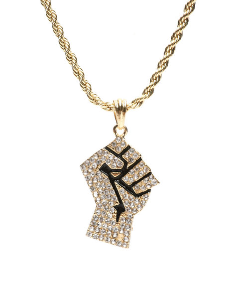 Buyers Picks - Power Fist Necklace
