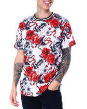 T-Shirts - Snake and Roses Tee-2430357