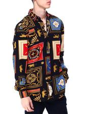 Button-downs - Rococo Tile LS Woven Shirt-2430218
