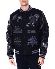 Mens-Winter - Basketball Varsity Jacket-2430598