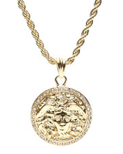 Stocking Stuffers Men - Medusa Necklace-2430809