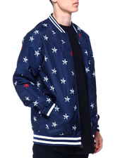 Buyers Picks - Star Print Flight Jacket-2430515