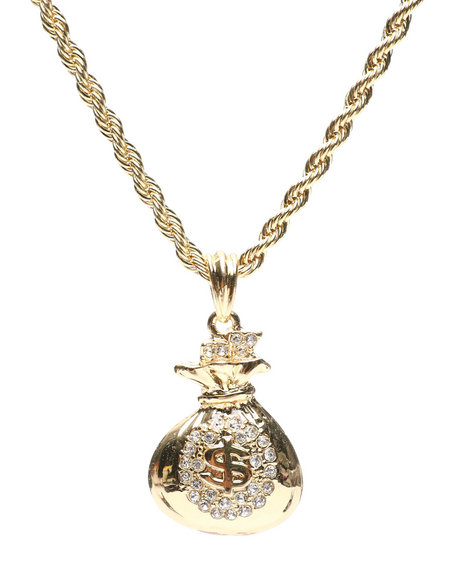 Buyers Picks - Money Bag Necklace
