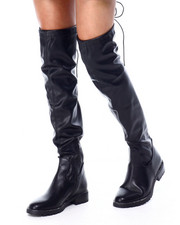 Women - Over The Knee Half Zip Boot-2429021