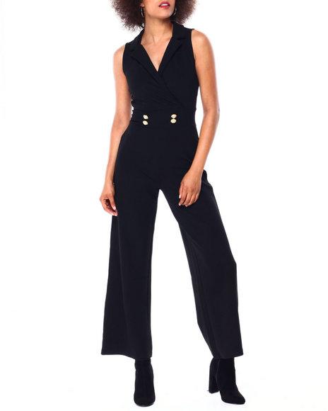 Almost Famous - S/L Jumpsuit W/Button