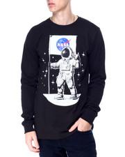 Akademiks - Astro Moonman Foil Print Ls Tee-2430577