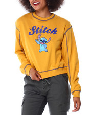 Tops - Stitch Contrast Stitch Skimmer Sweatshirt-2430996