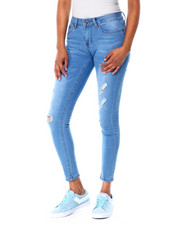 Bottoms - Distressed Skinny Jean-2429749