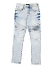 Bottoms - Stretch Biker Denim Jeans (8-18)-2431246