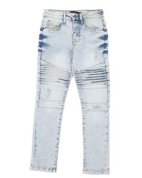 Southpole - Stretch Biker Denim Jeans (8-18)