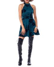 Women - Mock Neck Skater Dress-2431046
