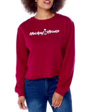Graphix Gallery - Mickey Mouse Side Rib Skimmer Sweatshirt-2431388