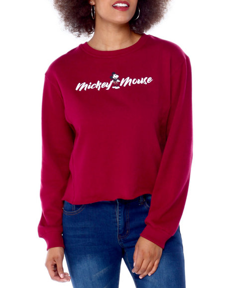 Graphix Gallery - Mickey Mouse Side Rib Skimmer Sweatshirt