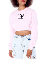 Graphix Gallery - MTV Cropped Crewneck Sweatshirt-2431006