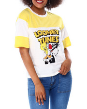 Graphix Gallery - Looney Tunes Double Pieced Sleeve Tee-2430008