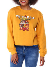 Graphix Gallery - Chip & Dale Side Rib Skimmer Sweatshirt-2431378
