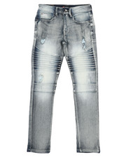Southpole - Stretch Biker Denim Jeans (8-18)-2431260