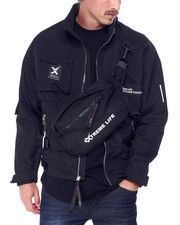 SWITCH - Nylon Jacket with Detachable Fanny Pack-2431372