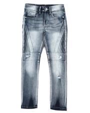 Bottoms - Stretch Biker Denim Jeans (8-18)-2431680
