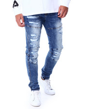 Foreign Local - Distressed Moto Jean-2431705