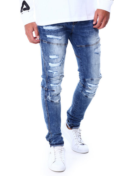 Foreign Local - Distressed Moto Jean
