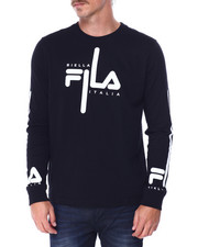 Mens-Winter - MARTINO LS TEE-2432051